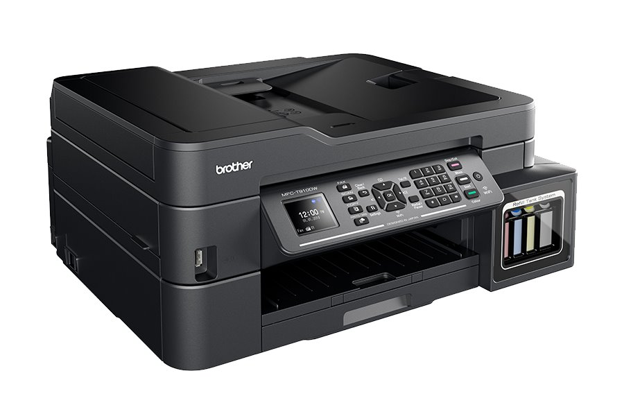 BROTHER inkoust MFC-T910DW/ A4/ 12ppm/ 128MB/ 6000x1200/ copy+scan+print+fax/ USB/ WL/ ADF/ ink tank system