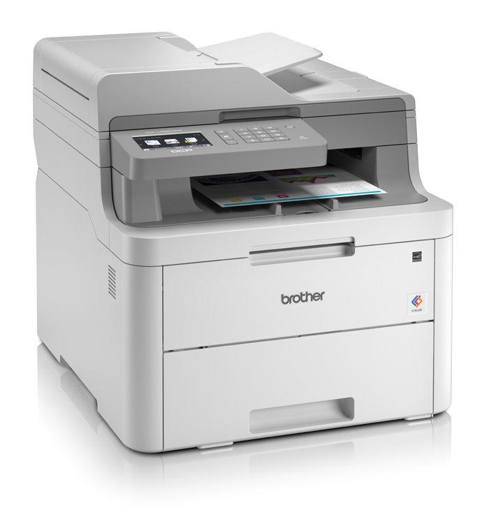 BROTHER DCP-L3550CDW/ A4/ 18 str/ ADF/ LED/ Print/ Copy/ Scan/ Duplex/ Ethernet/ Wi-Fi/ USB