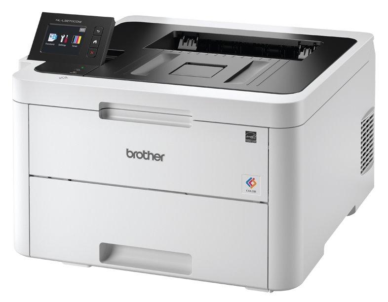 BROTHER laser HL-L3270CDW / A4 / 2400x600 dpi / color / tisk / duplex / USB / LAN / Wi-Fi / NFC