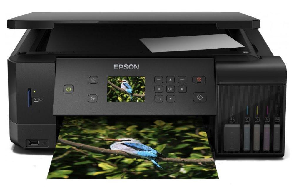 Epson L7160/ 5760 x 1440/ A4/ MFZ/ LCD/ ITS/ Duplex/ 4 barvy/ Wi-Fi/ USB/ 3 roky záruka po registraci
