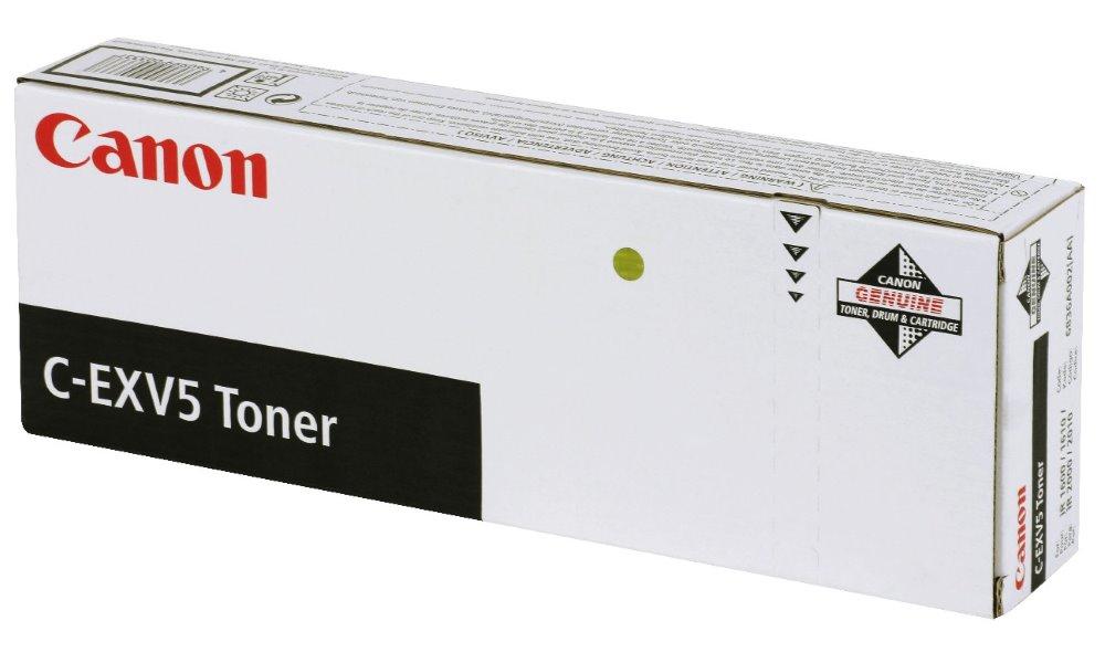 Toner Canon C-EXV5 pro IR-16xx, IR-20xx, 15 700 stran, Černý 6836A002