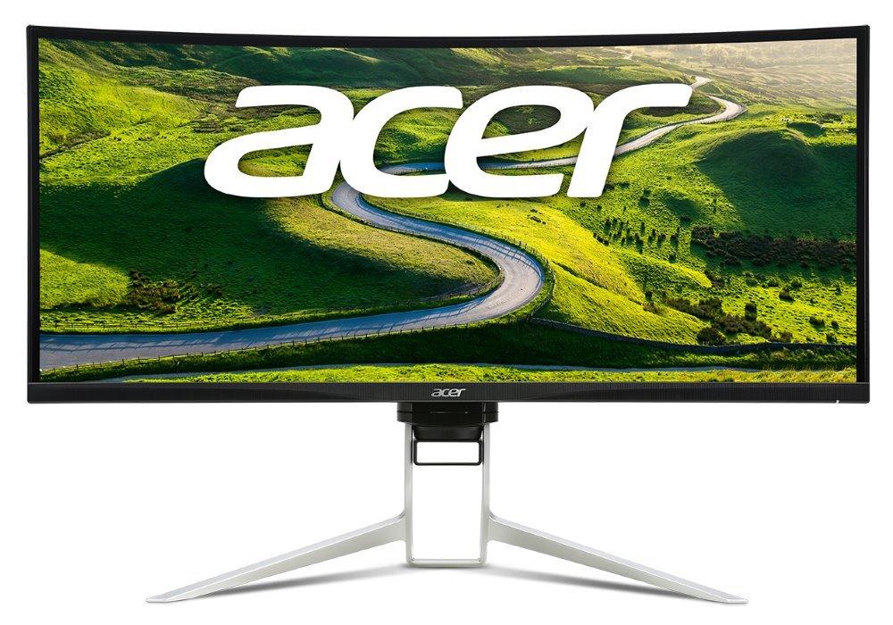 """Acer LCD XR382CQKbmijphuzx/ 37,5"""" IPS LED Curved/ UW-QHD/ 300cd/ 5ms/ HDMI/DP/USB/repro/VESA..."""