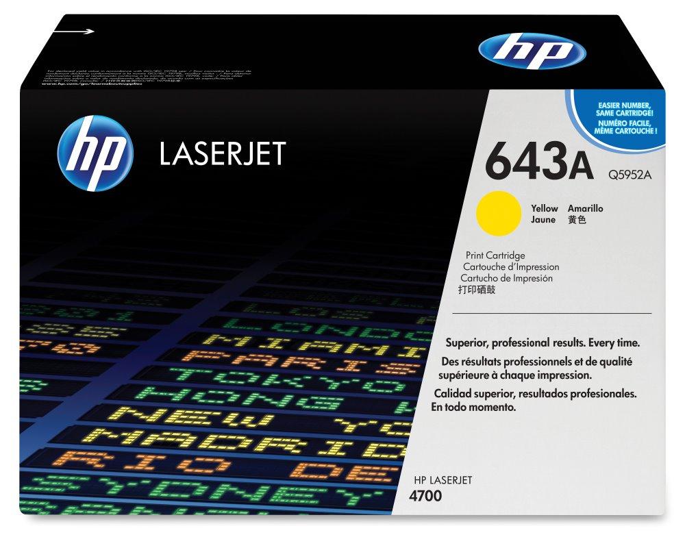 Toner HP Q5952A pro CLJ 4700, žlutý Q5952A