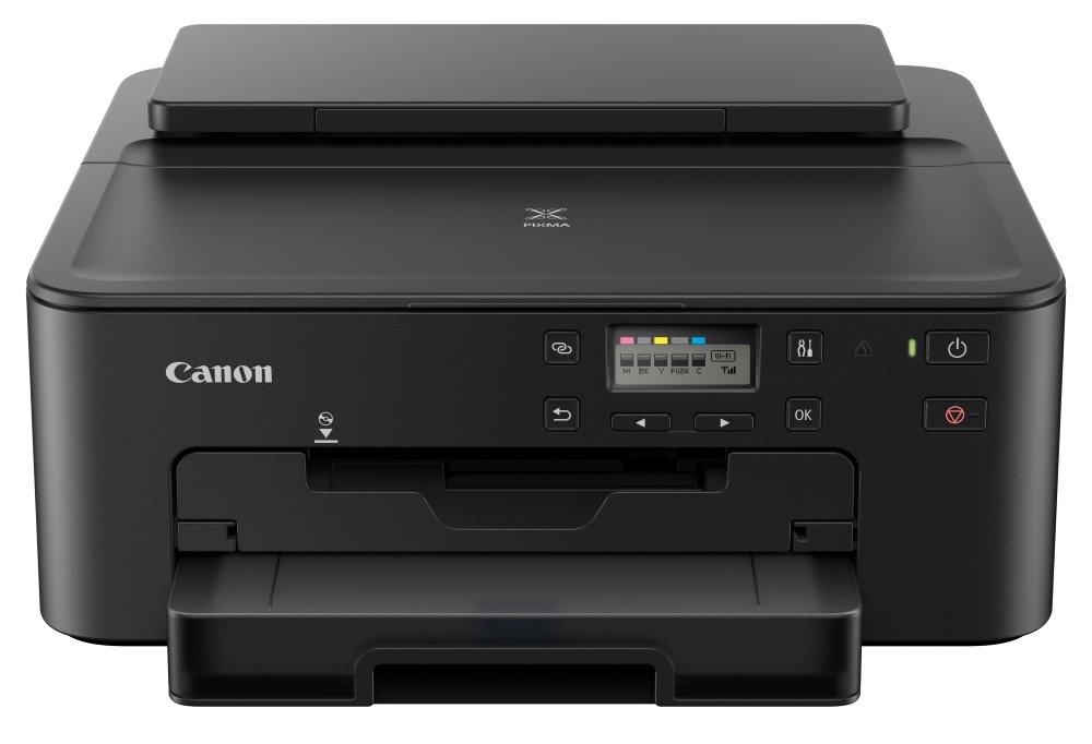Canon PIXMA TS705/ A4/ 4800x1200/ 15/10ppm/ WiFi/ BT/ USB/ LAN/ duplex/ černá