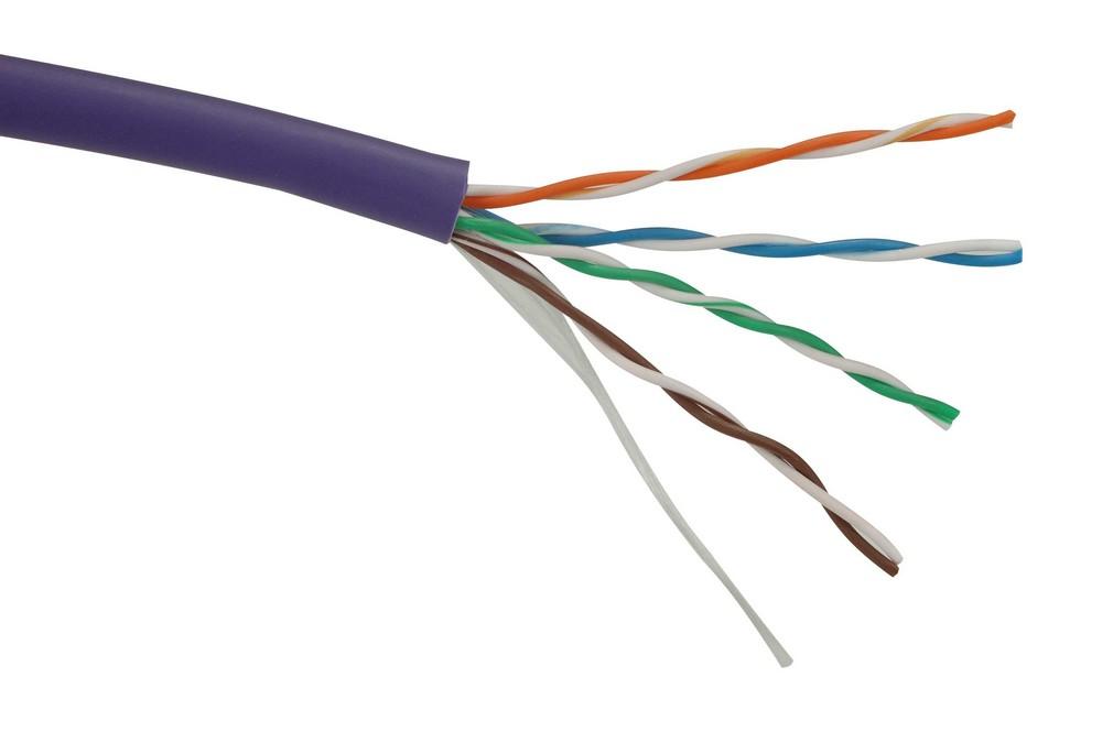 Síťový kabel Solarix UTP cat.5e, 305 m Síťový kabel, CAT5e, 305 m, LSOH, drát 27724119