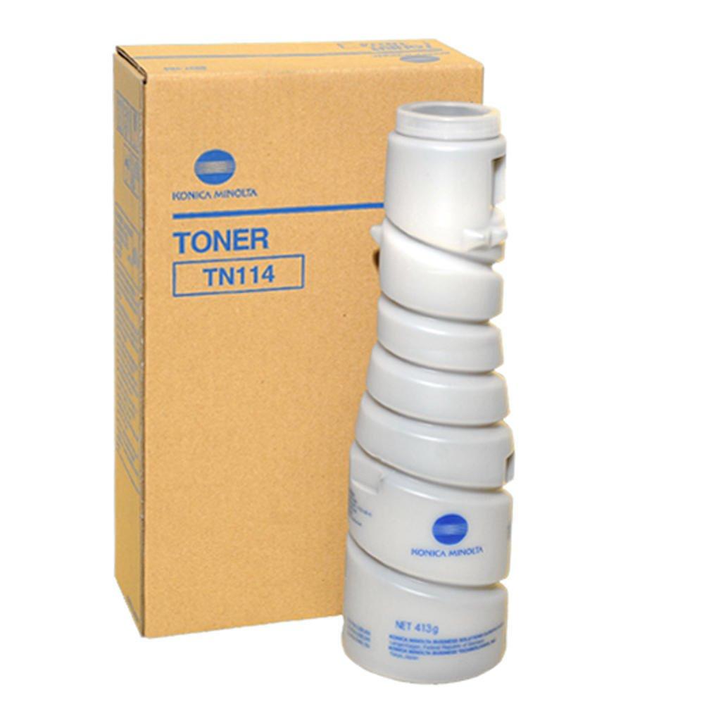 Toner Konica Minolta TN-114 černý Toner, pro tiskárny Konica Minolta Bbizhub 162, 210, 163, 211, Di152, 183, Di1611, 2011, 2 x 11 000 stran, dualpack, černý 8937784