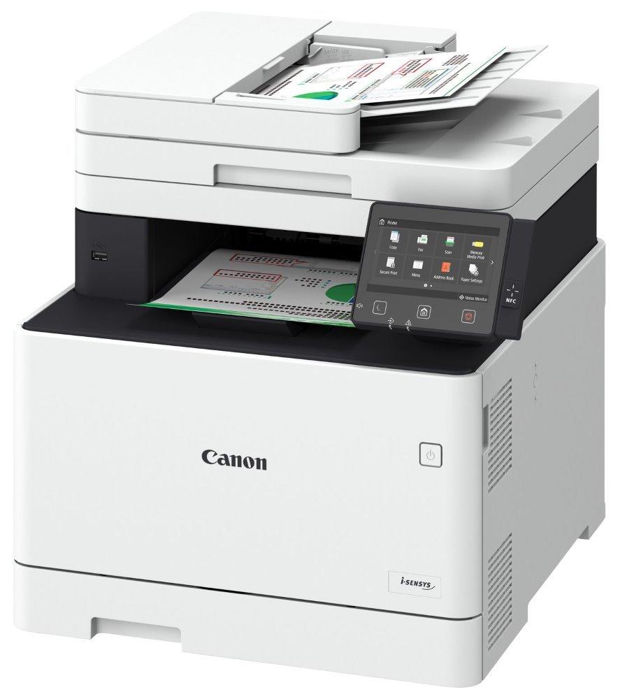 CANON i-SENSYS MF746Cx / A4 / tisk+scan+copy+fax/ 27 ppm/ 600x600dpi / LAN/ WiFi/ DADF/ Duplex