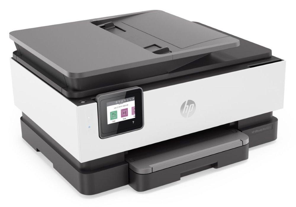 HP OfficeJet Pro 8023/ color/  A4/ PSCF/ 20/10ppm/ AirPrint/ HP Smart/ LAN/ WiFi/ Duplex/ ADF
