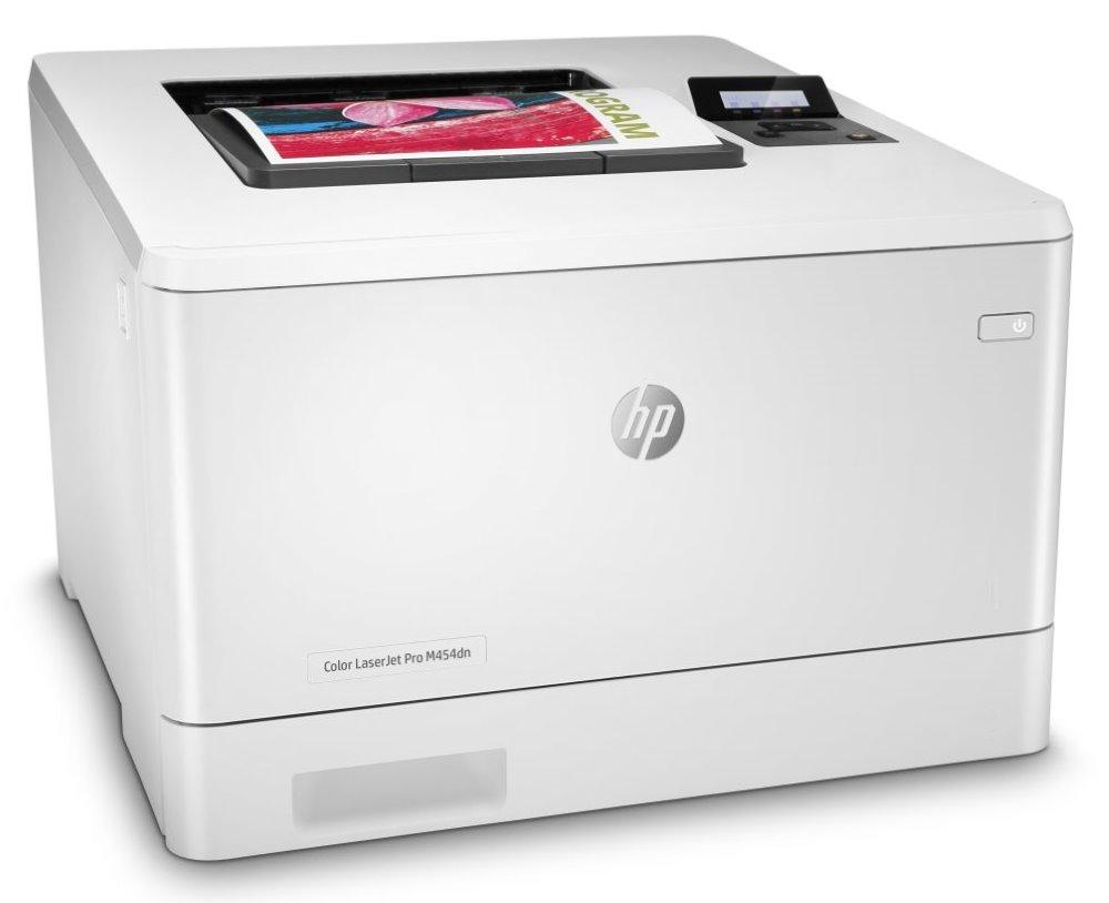 HP Color LaserJet Pro M454dn/ A4/ 27ppm/ 600x600dpi/ USB/ LAN/ duplex