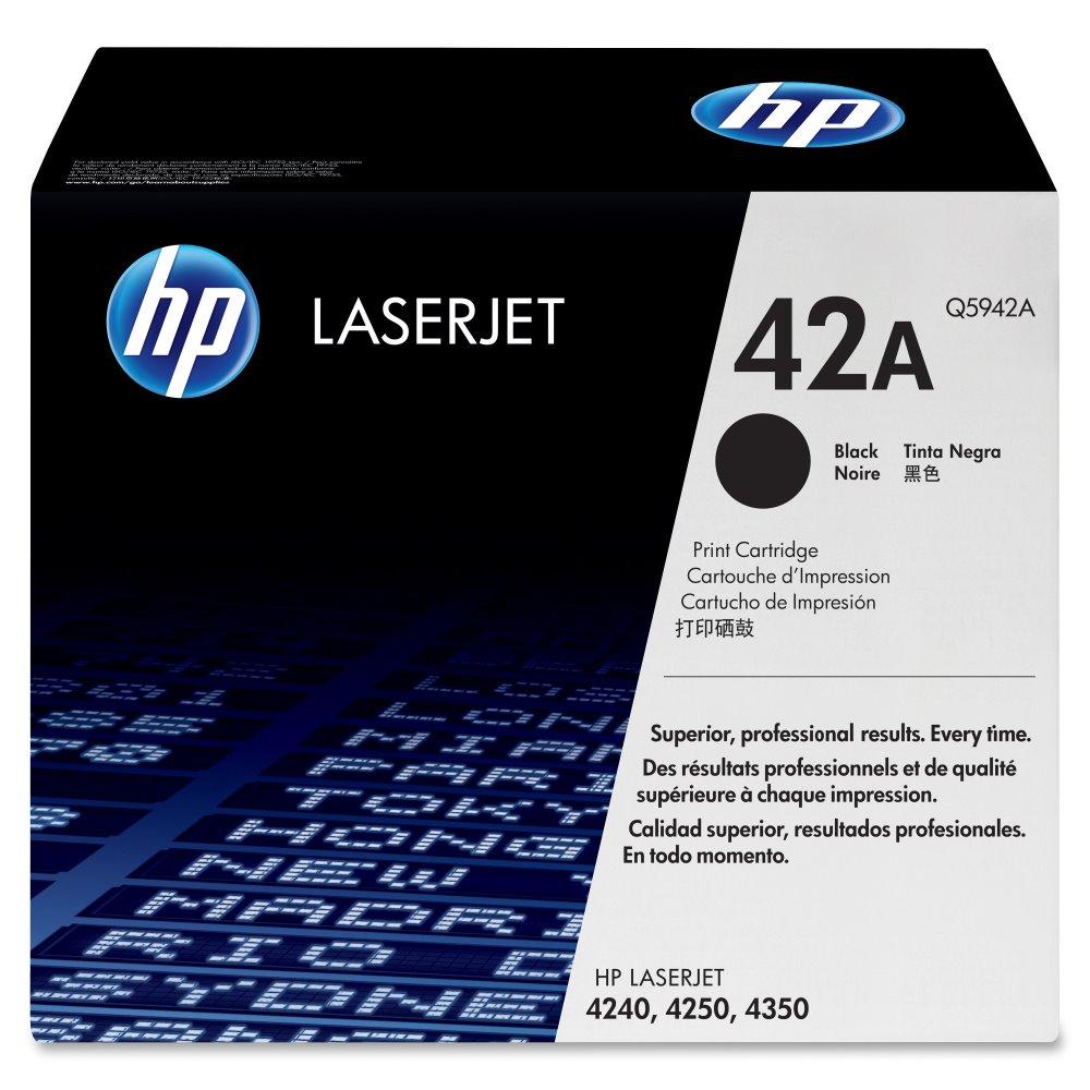 Toner HP Q5942A pro LJ 4250,4350, černý Q5942A