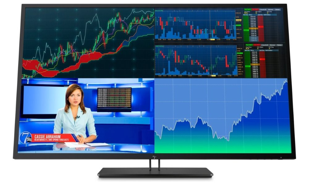 "Akce! HP Z43 42,51""/ 3840x2160/ IPS/ 8ms/ 350 cd/m2 / DP/ mDP/ USB-C/ HDMI/ matný/ černý/ 3yw"