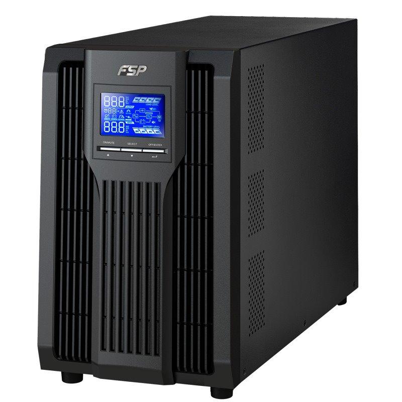 Akce! FORTRON Champ TW 3000VA / 3000VA/2700W / 120-300 VAC / LCD /  USB / RS-232