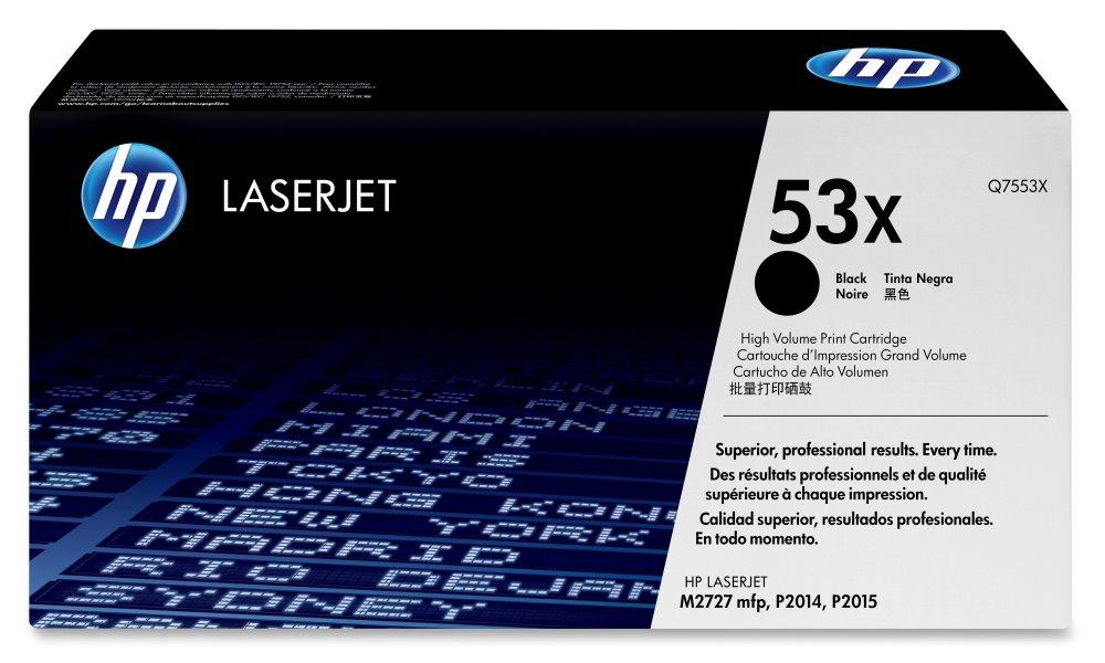 Toner HP Q7553X pro LJ P2015, černý, 7000 str. Q7553X