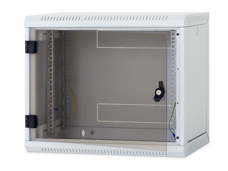 Nástěnný rozvaděč Triton 19 12U Nástěnný rozvaděč, jednodílný, 12U, 400 mm, odním. boční kryty RUA-12-AS4-CAX-A1