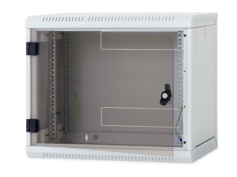 Nástěnný rozvaděč Triton 19 15U Nástěnný rozvaděč, jednodílný, 15U, 400 mm, odním. boční kryty RUA-15-AS4-CAX-A1
