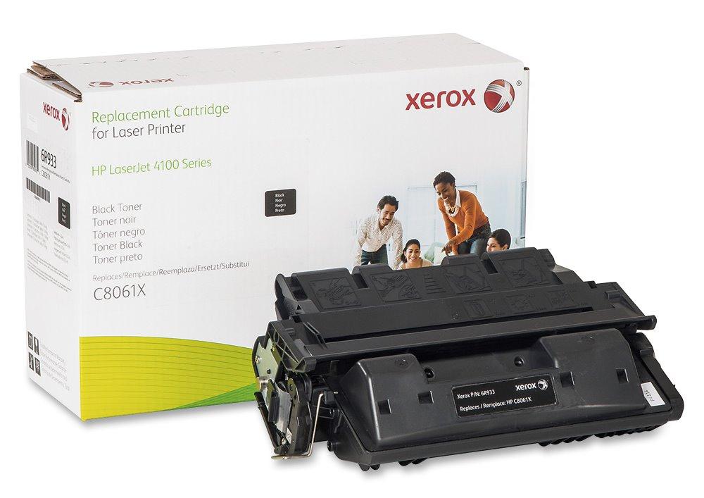 Toner Xerox za HP 61X (C8061X) černý Toner, kompatibilní s HP C8061X, pro LaserJet 4100, 10000 stran, černý, s čipem