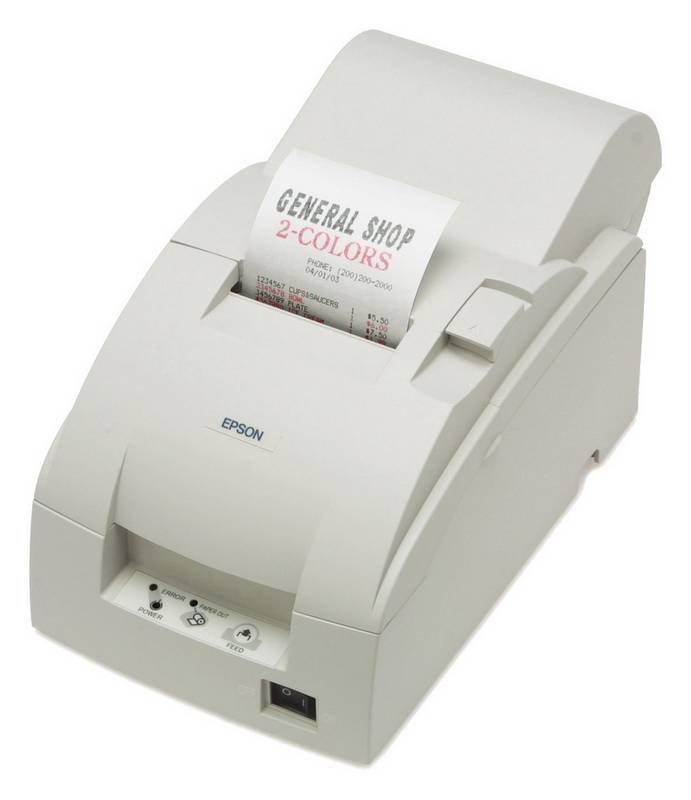 Pokladní tiskárna EPSON TM-U220PA-007 Pokladní tiskárna, paralelní, včetně zdroje, bílá C31C516007