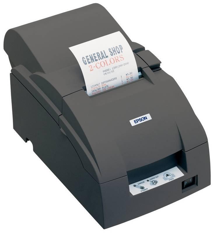 Pokladní tiskárna EPSON TM-U220PA-057 Pokladní tiskárna, paralelní, včetně zdroje, černá C31C516057