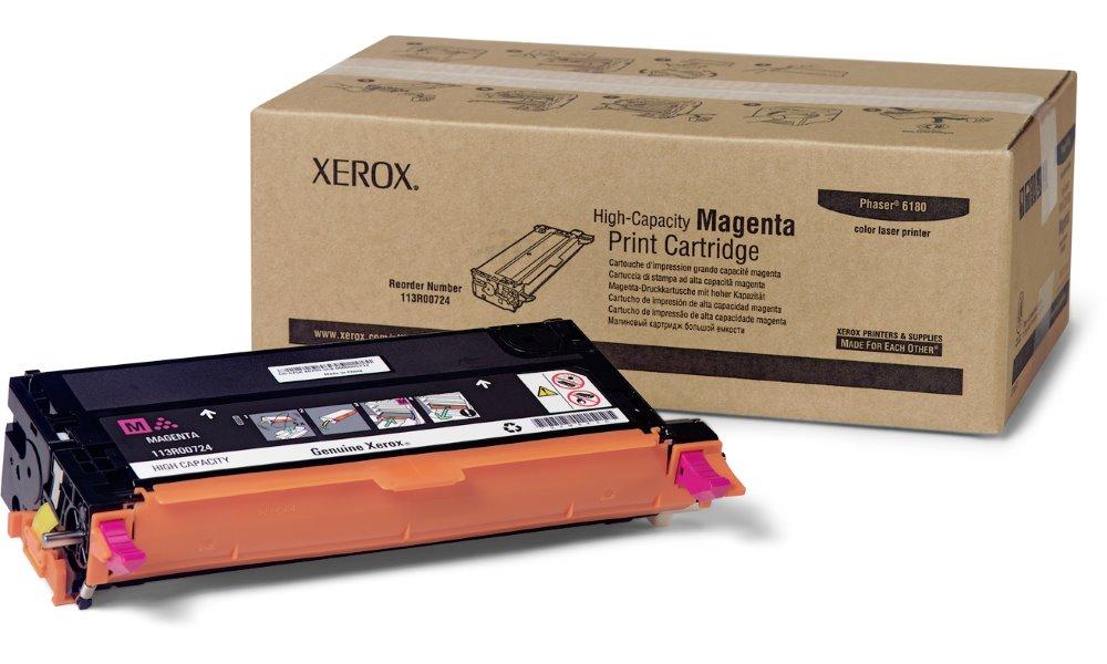 Xerox original toner Phaser 6180/ 6000s./ purpurový