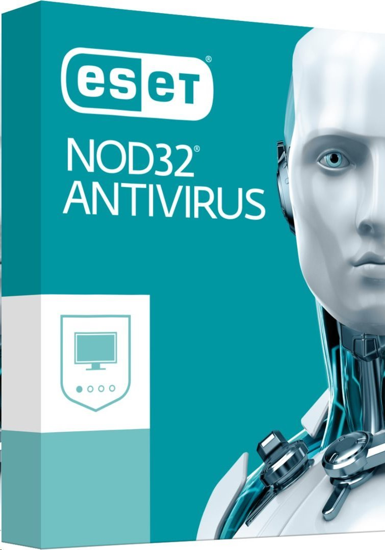 Antivirový software NOD32 pro MS Windows Antivirový software, 1 instalace, 1 rok, updateUPD]. krabice 150885