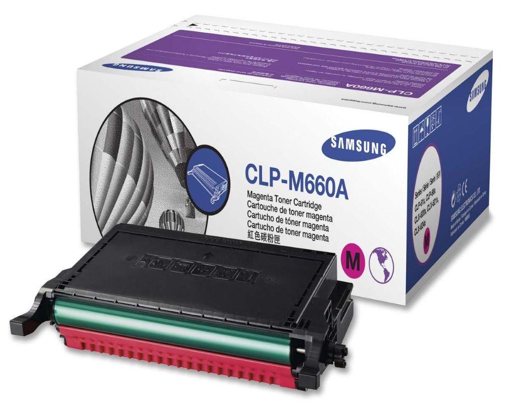 Toner SAMSUNG pro CLP-610,660,CLX-6210 purpurový,2.000 stran CLP-M660A/ELS