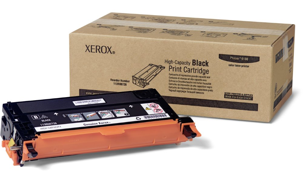 Xerox original toner Phaser 6180/ 8000s./ černý