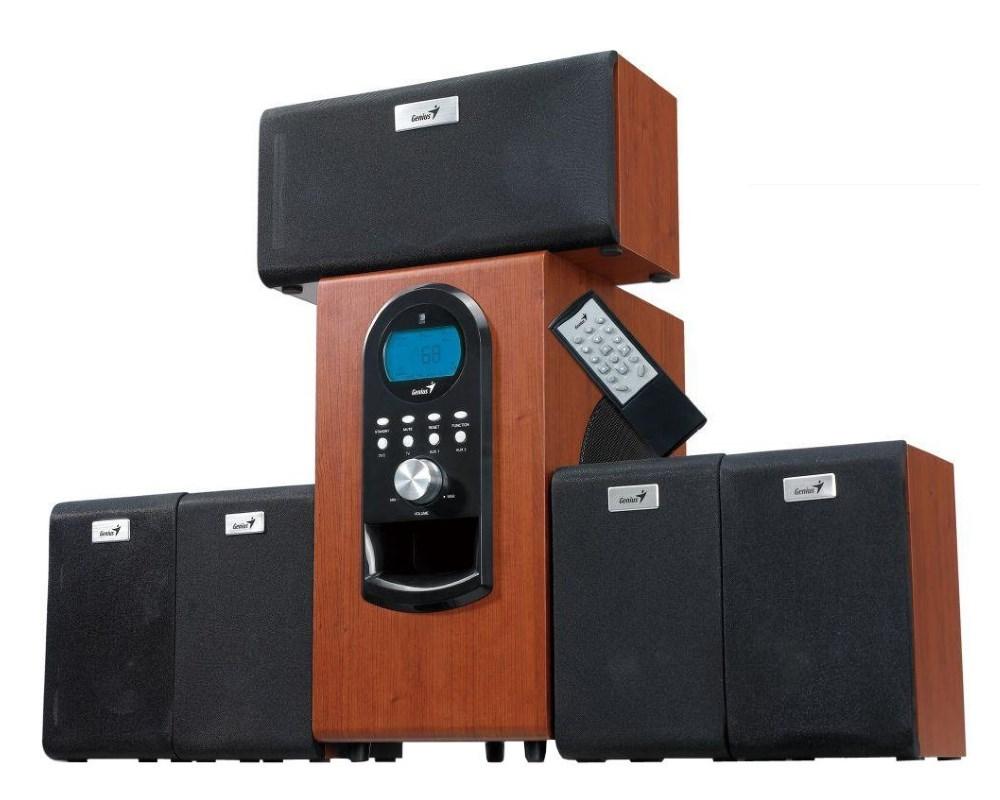 Reproduktory GENIUS SW-HF 5.1 6000 Reproduktory, 5.1, 100W, dřevěné 31730022101