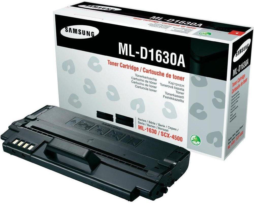 Toner SAMSUNG ML-D1630A černý Toner, pro SAMSUNG ML-1630, SCX-4500, 2000 stran, černý ML-D1630A/ELS