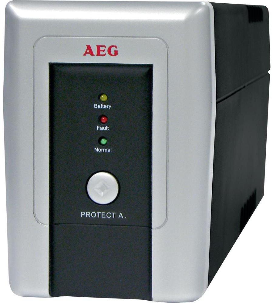 Záložní zdroj UPS AEG Protect A.700 Záložní zdroj UPS, 700VA, 420W, 230V 6000006436
