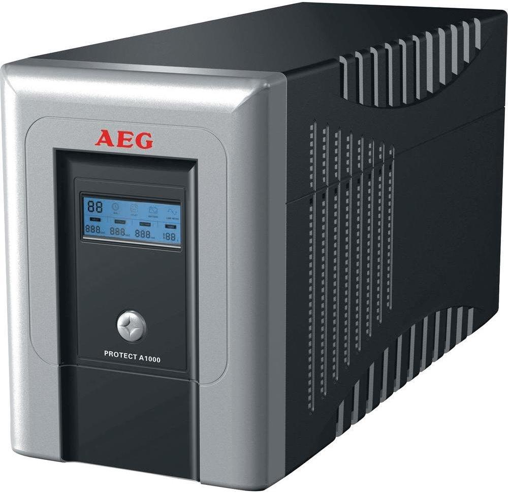 Záložní zdroj UPS AEG Protect A.1000 Záložní zdroj UPS, 1000VA, 600W, 230V 6000006437