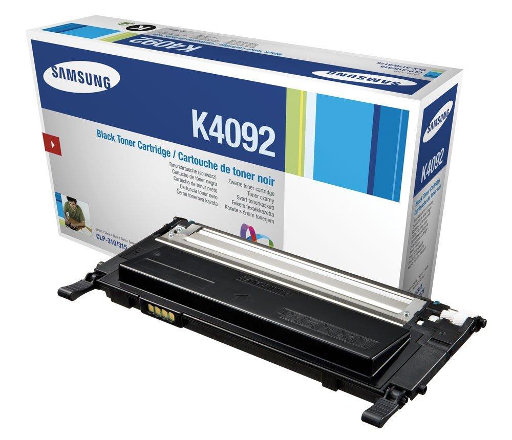 Toner SAMSUNG CLT-K4092S černý Toner, pro SAMSUNG CLP-310, 315, CLX3170, 3175, 1500 stran, černý CLT-K4092S/ELS