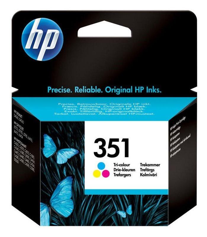 Cartridge inkoustová náplň HP HP 351 - ink. Tri-colour Vivera CB337EE