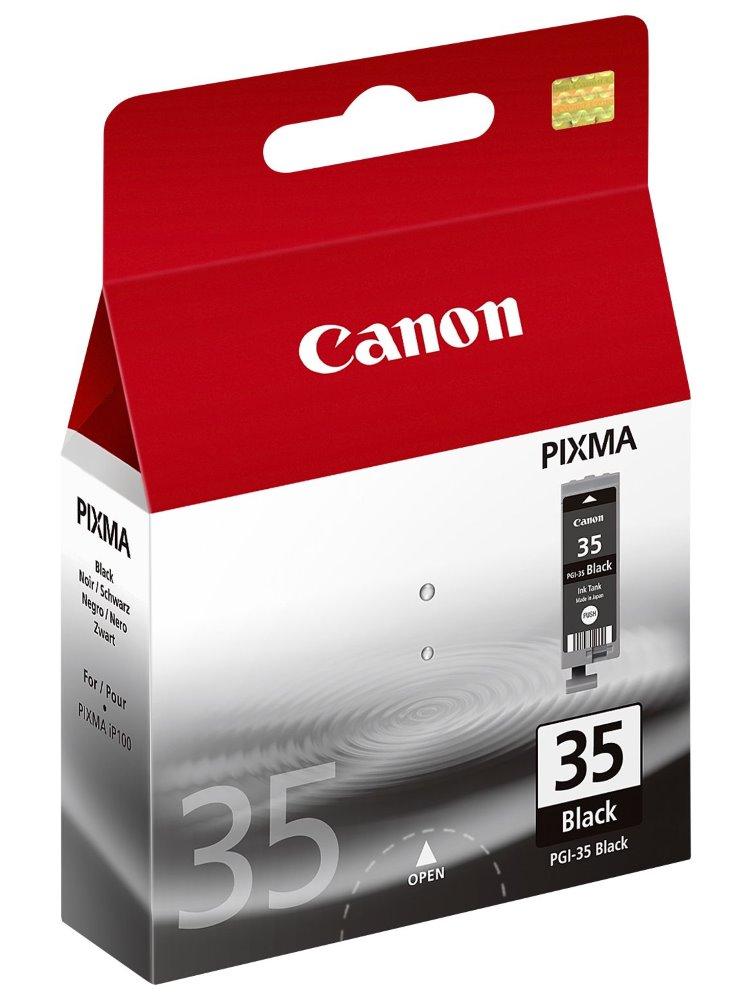 Cartridge inkoustová náplň Canon PGI-35Bk, černá 1509B001