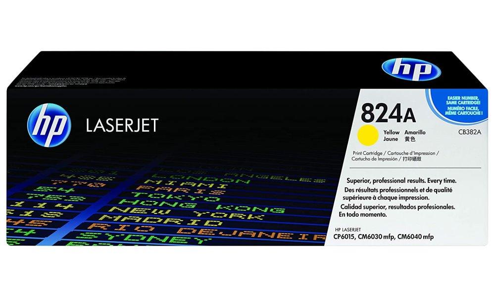 Toner HP CB382A žlutý CB382A