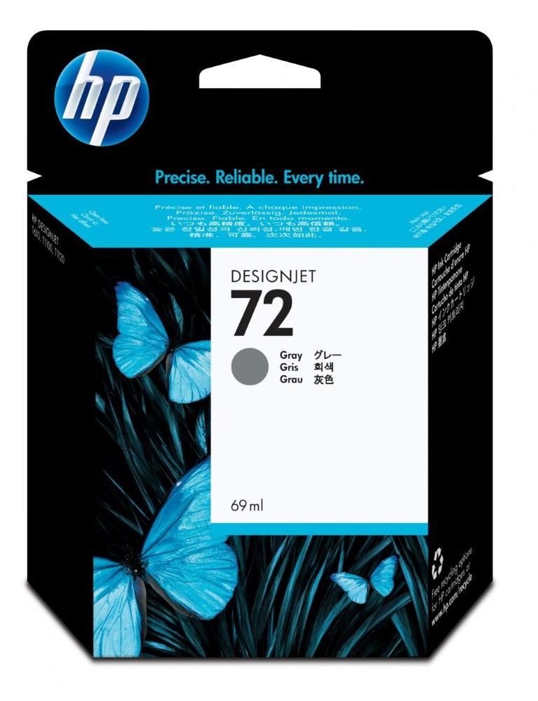 Cartridge inkoustová náplň HP 72 HP C9401A ink. šedá, 69 ml Vivera C9401A