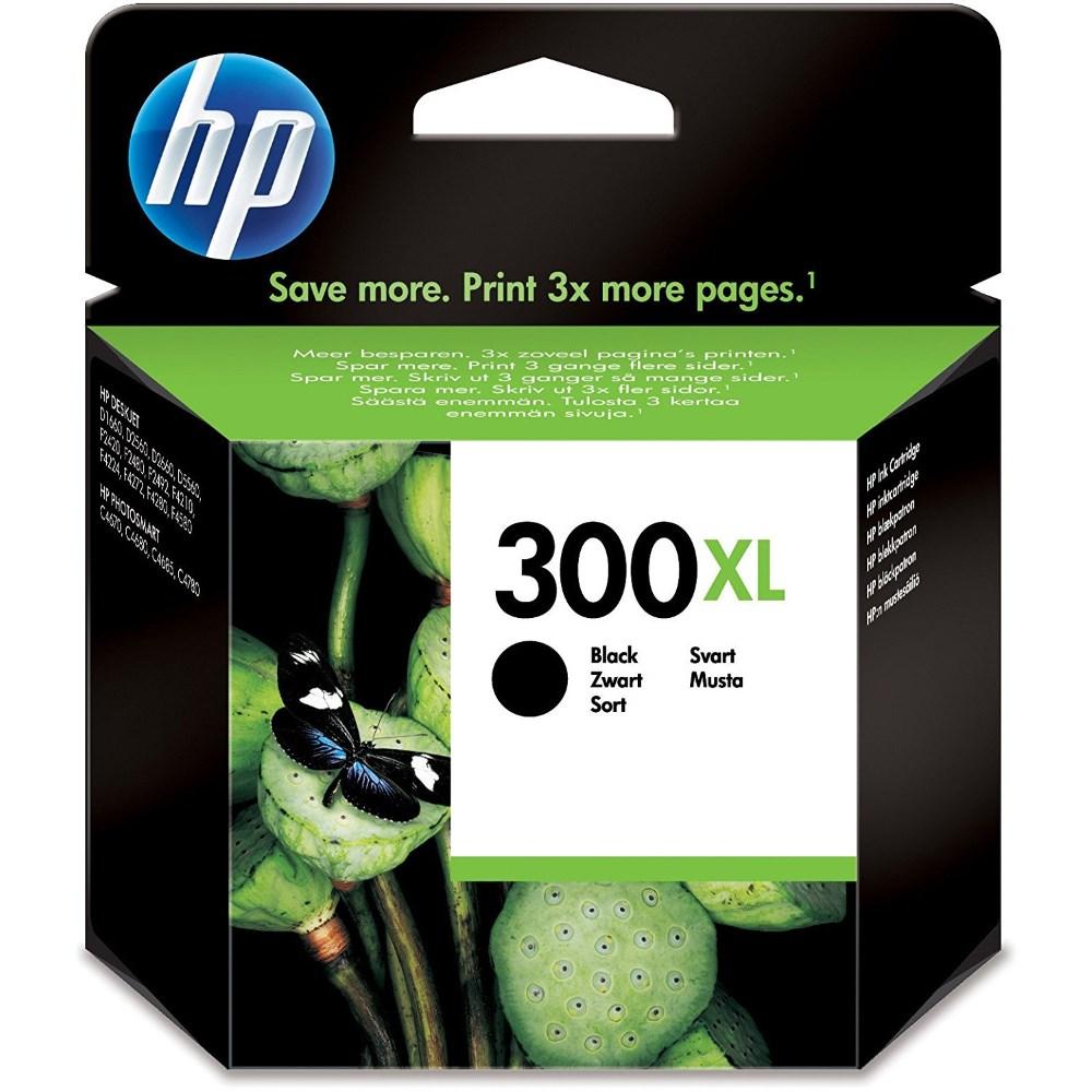 Cartridge inkoustová náplň HP 300 HP CC641EE ink. černá XL CC641EE
