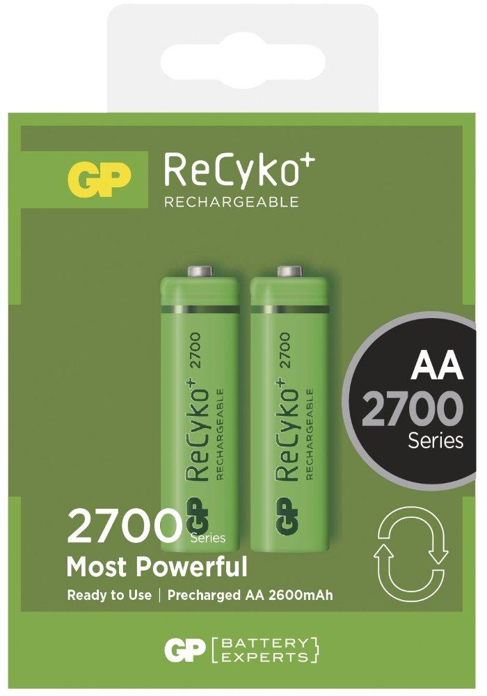 Nabíjecí baterie GP 1032212130 Nabíjecí baterie, NiMH, 2700 mAh, 2 ks blistr 1032212130