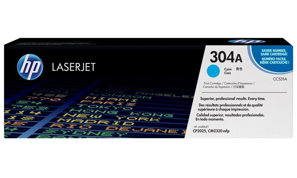 Toner HP CC531A azurový CC531A