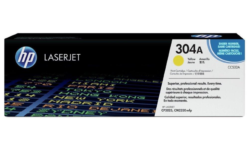 Toner HP CC532A žlutý CC532A