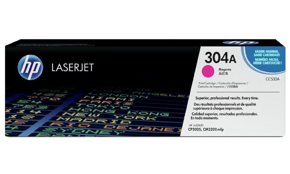 Toner HP CC533A purpurový CC533A