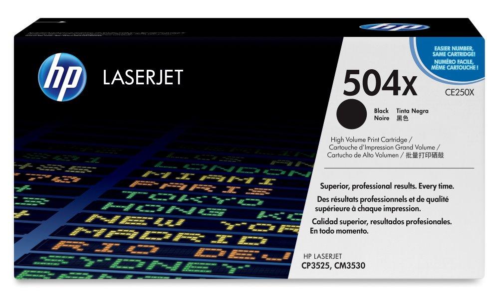 Toner HP CE250X černý, 10500 str. CE250X