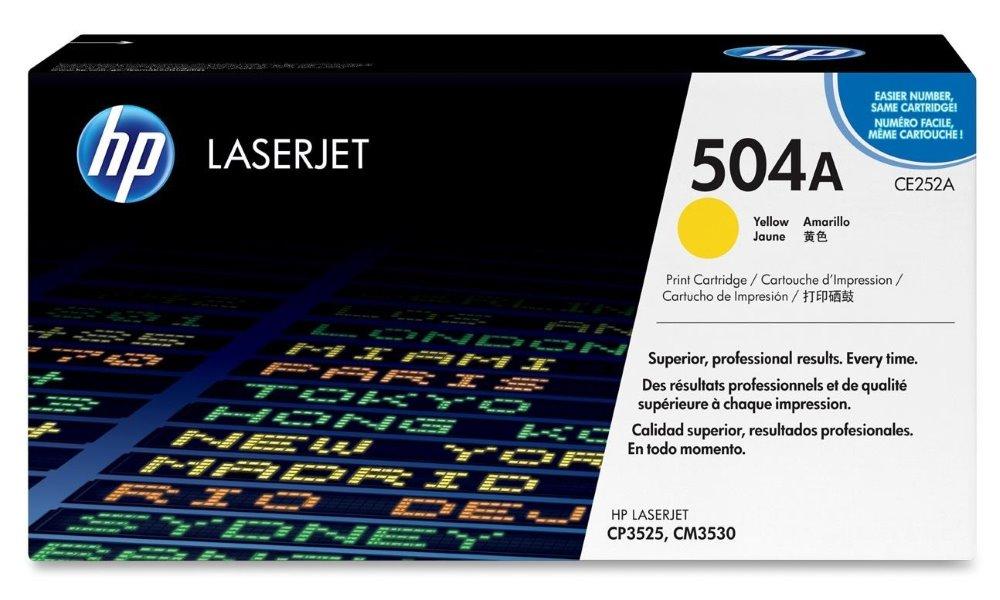 Toner HP CE252A žlutý, 7000 str. CE252A