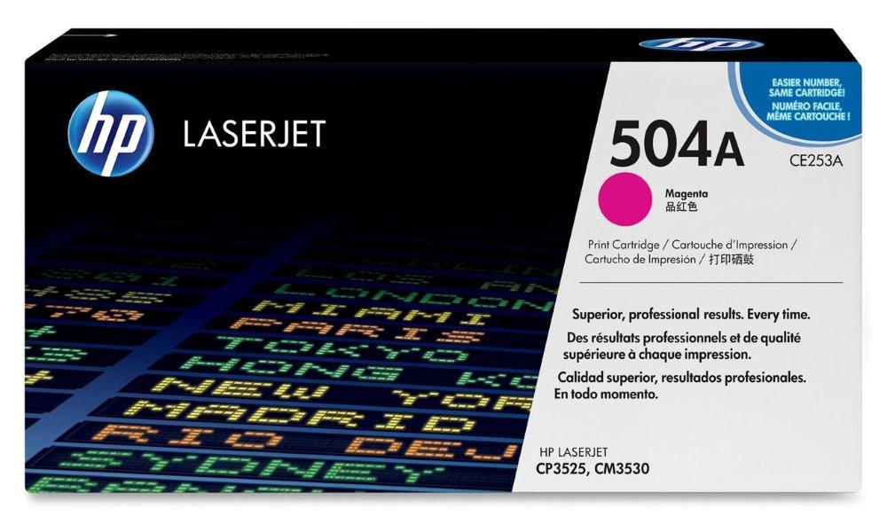 Toner HP CE253A purpurový, 7000 str. CE253A