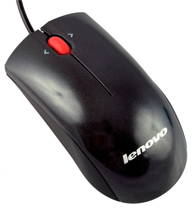 Myš Lenovo Laser Myš, laserová, 2000 dpi, USB/PS2 41U3074