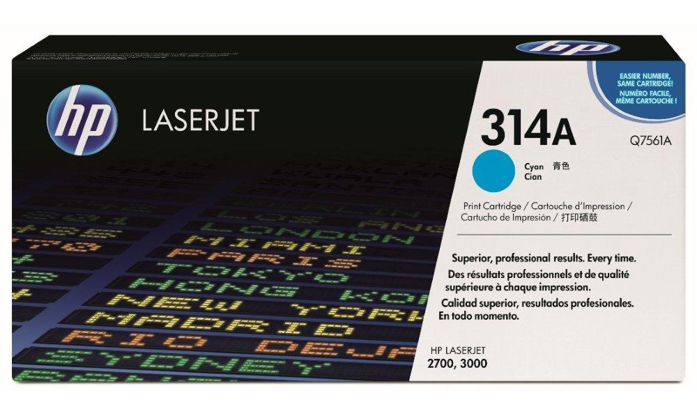 Toner HP Q7561A azurový Q7561A