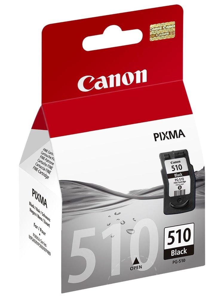 Cartridge inkoustová náplň Canon PG-510Bk, černá 2970B001