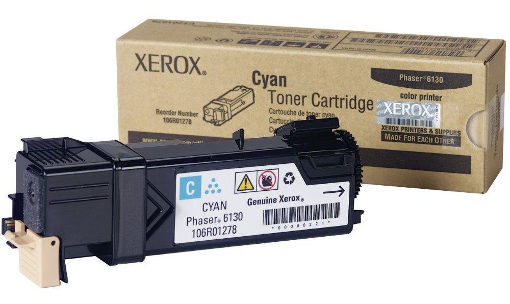 Toner XEROX modrý pro Phaser 6130 2.000 str. 106R01282