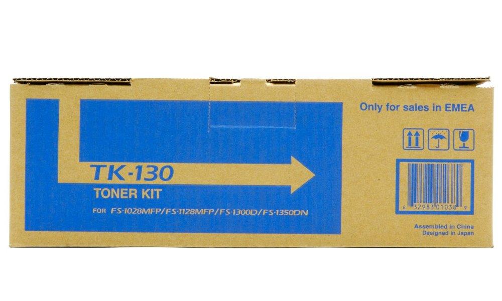 Toner Kyocera TK-130 pro FS-1300D, FS-1350D, 1028MFP, 1128MFP, černý, 7 200 str. TK-130