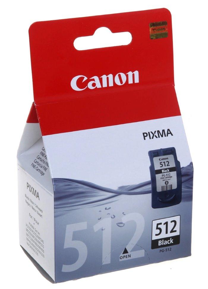 Cartridge inkoustová náplň Canon PG-512Bk, černá 2969B001