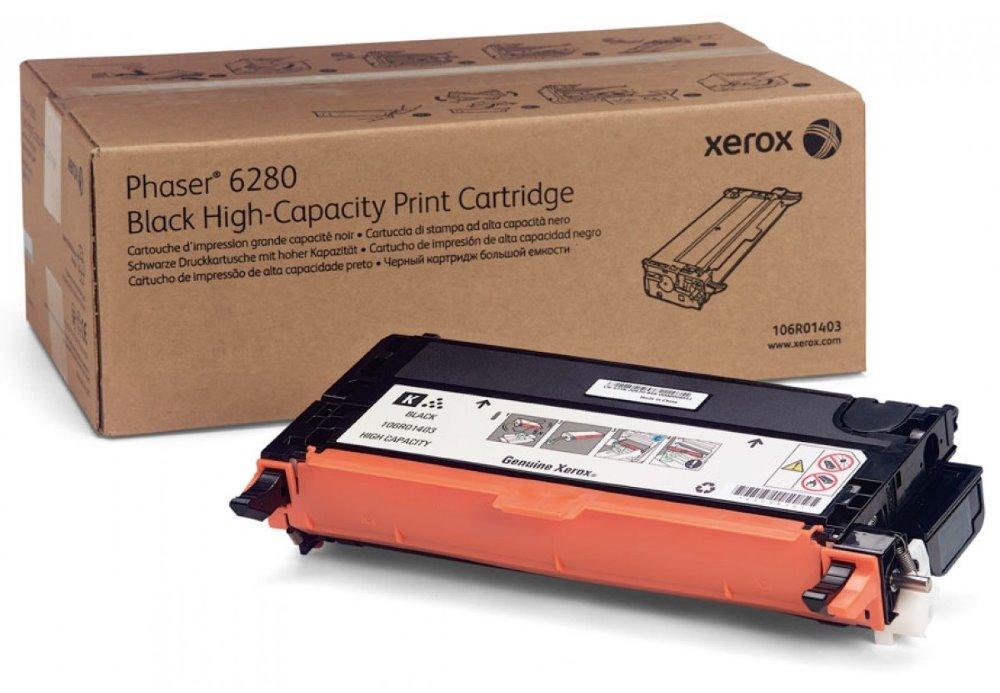 Toner Xerox 106R01403 černý Toner, originální, pro Xerox Phaser 6280, 7000 stran, černý 106R01403